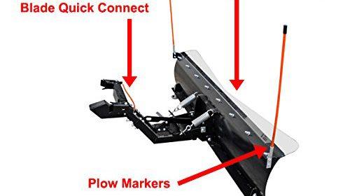 John Deere Gator Plow >> Complete Kit!! John Deere Gator 625i, 825i, 855D 52″Plow Pro Heavy Duty SnowPlow | UTV & ATV ...