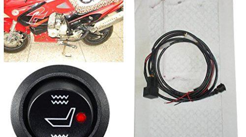 Universal Motorcycle ATV UTV E-BIKE Carbon Fiber Seat Heater